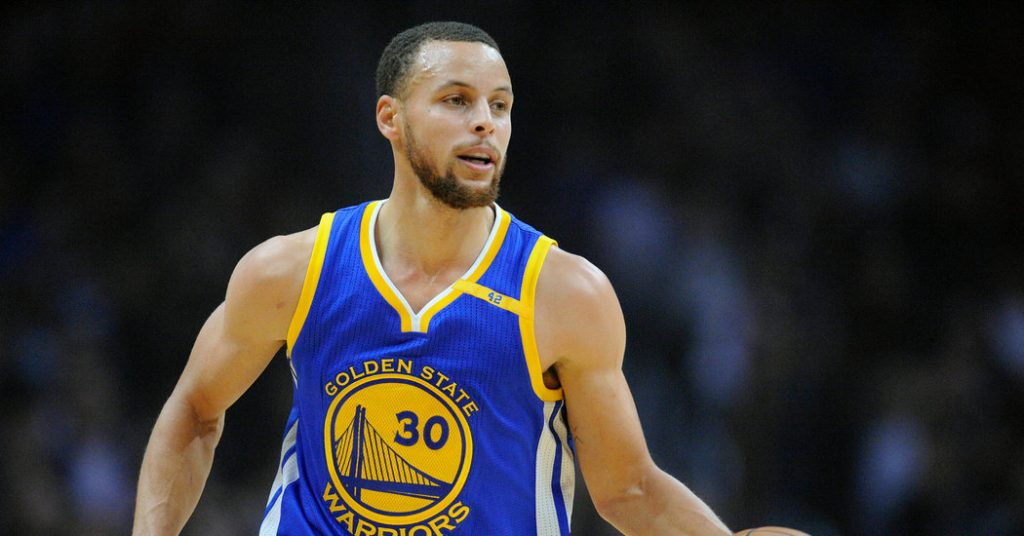 Stephen Curry – NBA Star in Your Browser