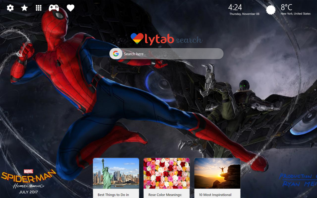 Spiderman Wallpapers – New Theme For Your Browser