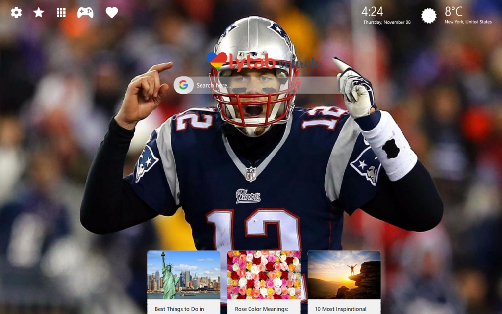 Patriots Wallpaper HD & New Tab Themes