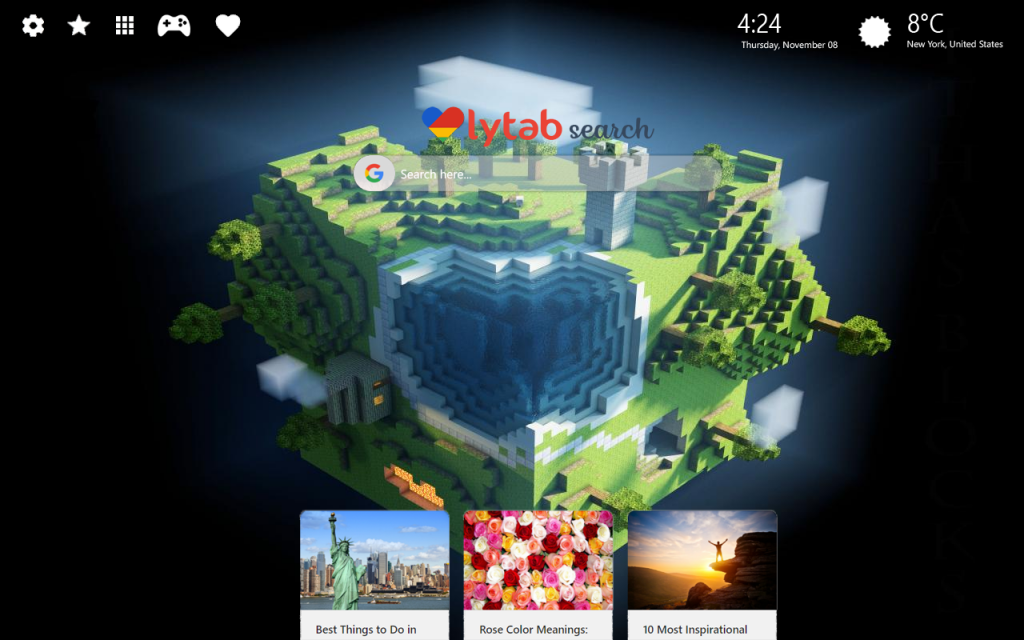 Minecraft Themes – New Tab Wallpaper