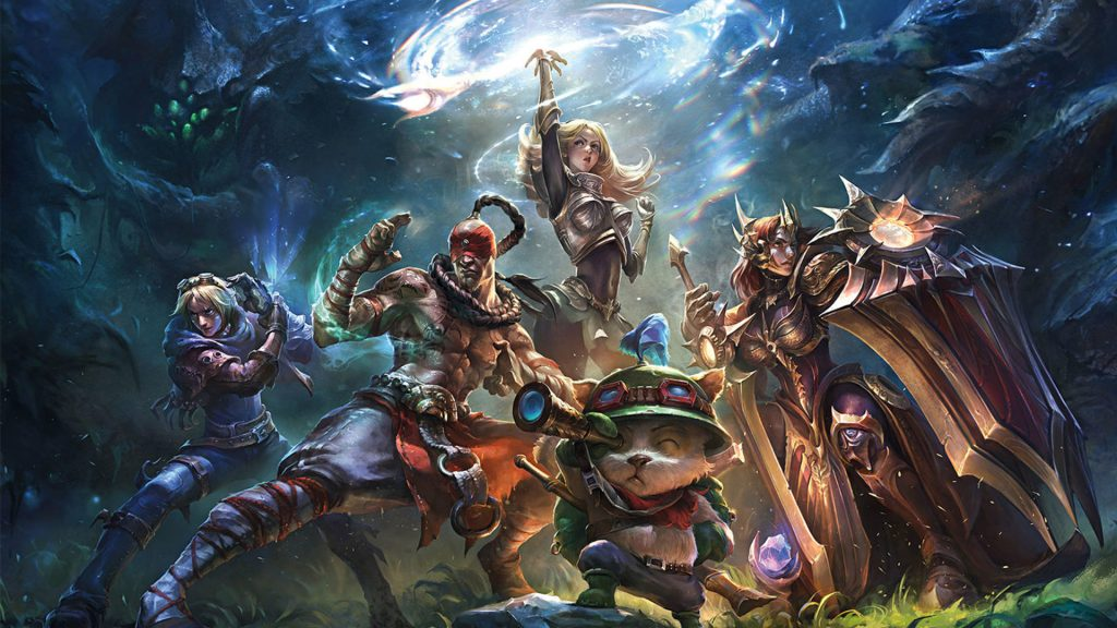 League of Legends Wallpapers for Your Browser! Free!