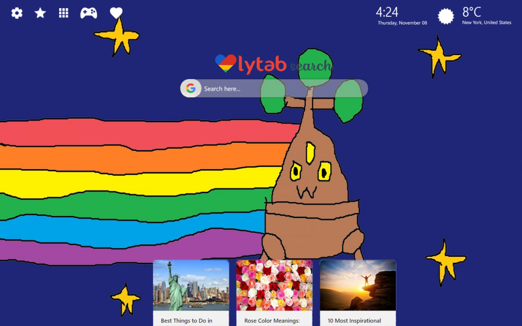 Nyan Cat New Tab Theme HD Wallpapers