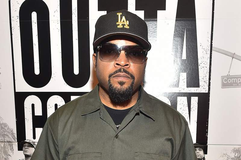 Ice Cube wearing hat and glasses - one of the most influential hip-hop artists of all time