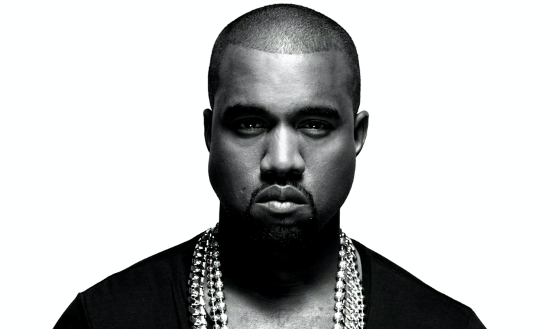 Kanye studio shot - one of the most influential hip-hop artists of all time