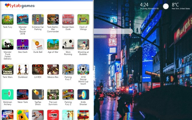 New York Themes for your browser