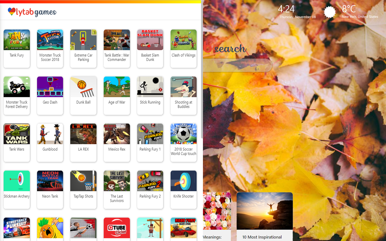 Autumn Leaves Wallpapers New Tab