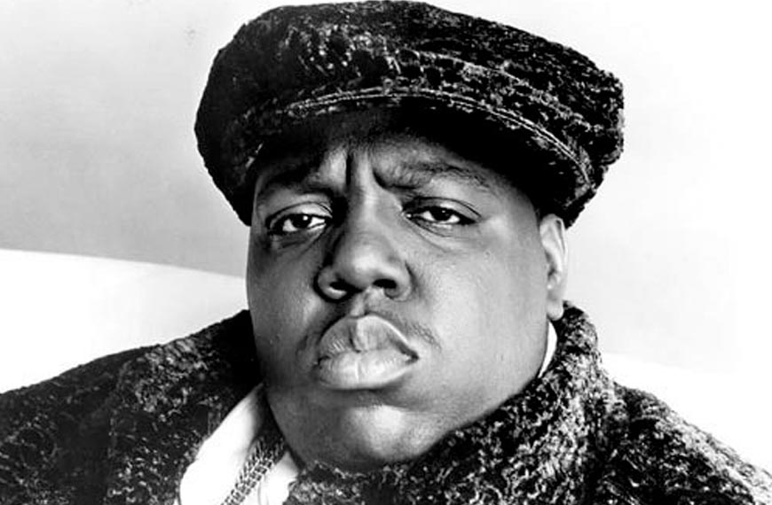 The Notorious B.I.G. - one of the most influential hip-hop artists of all time