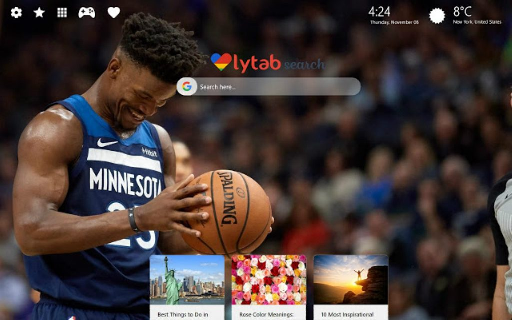 Jimmy Butler Wallpaper HD & New Tab Theme