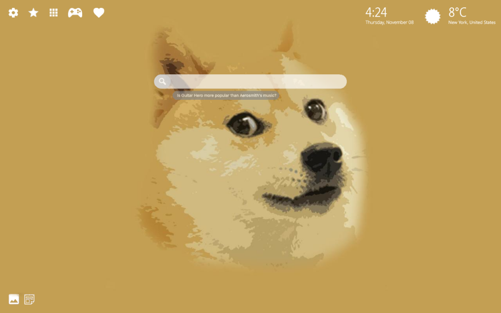 Doge HD Wallpaper & New Tab Themes