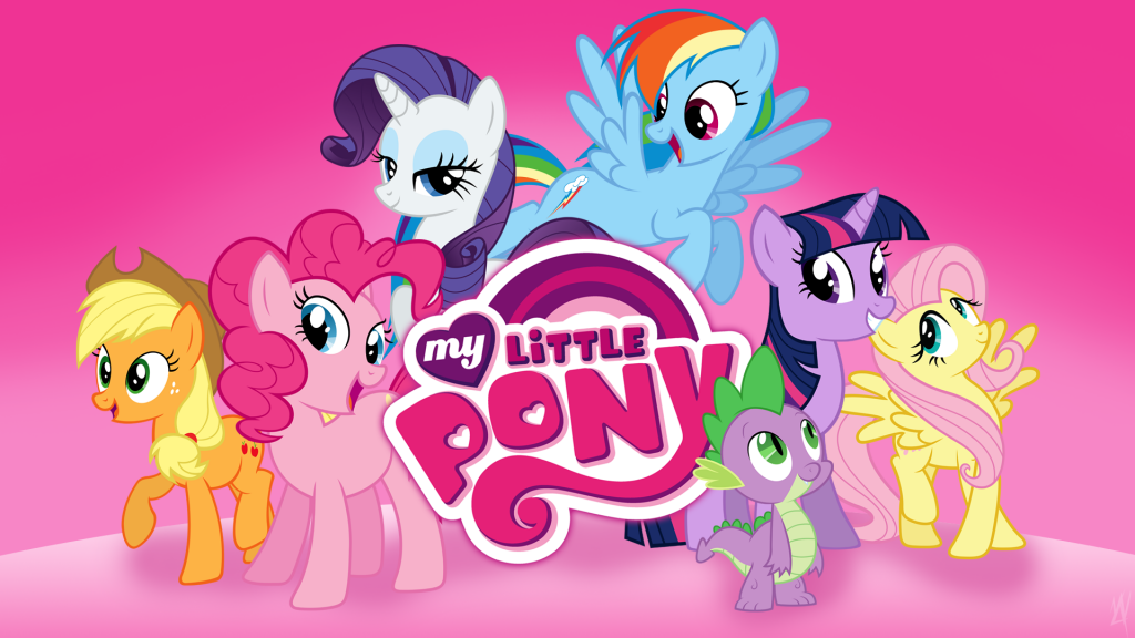 My Little Pony HD Wallpaper – Meet All The Ponies!