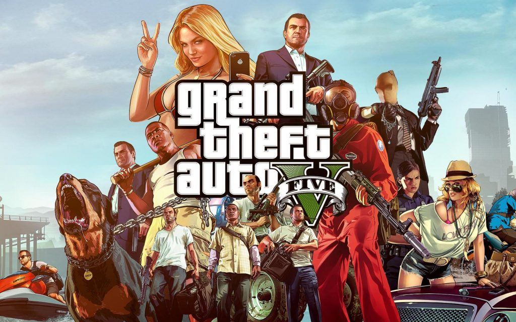 GTA V HD Wallpapers for Your Google Chrome + Interesting Facts