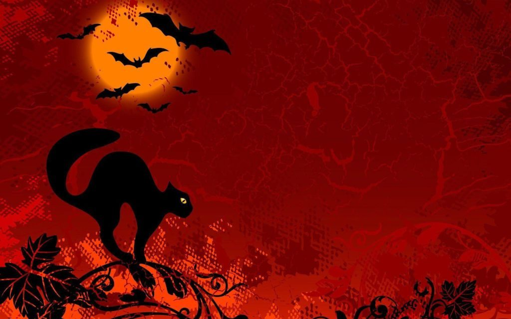 Black Cat Halloween Wallpapers – Are They Symbol of Good or Bad Luck?!