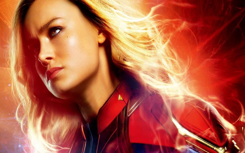 Captain Marvel HD Wallpaper Theme