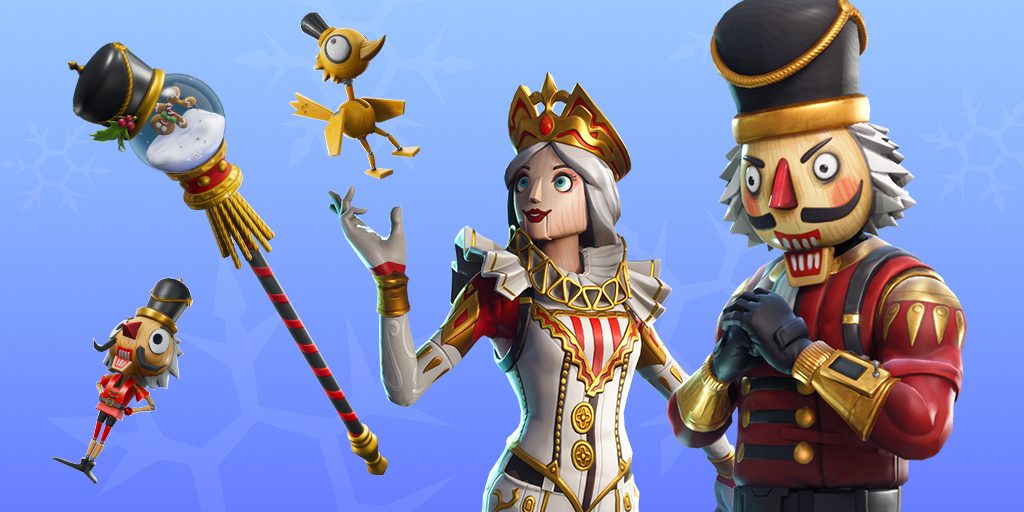 Newest Fortnite Christmas Skins 2019 Themes Lovely Tab