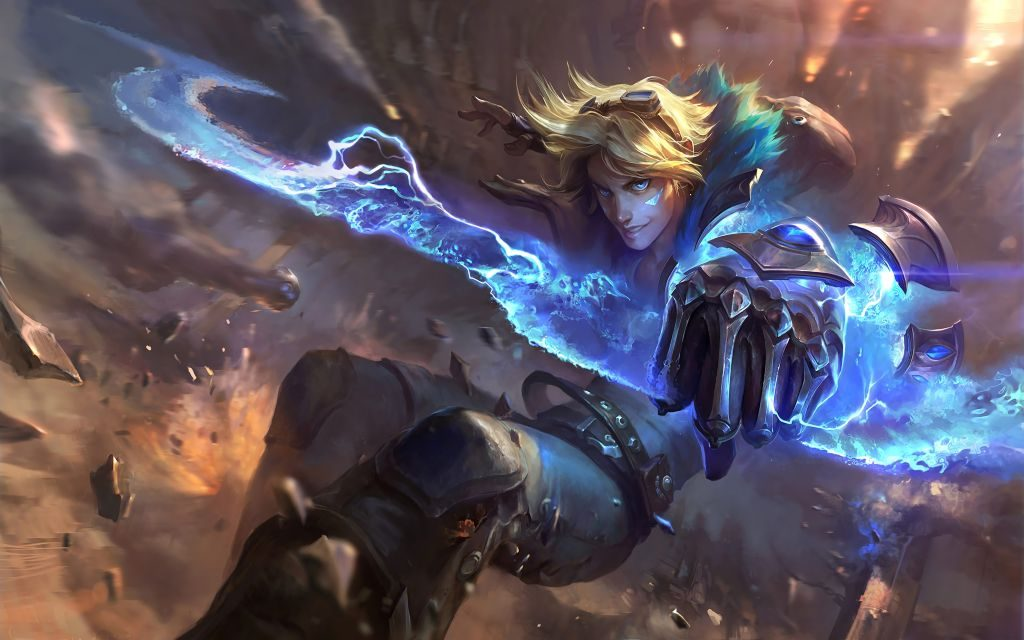 LoL Ezreal Wallpaper HD & Backgrounds of the Prodigal Explorer!