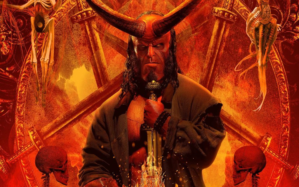 Hellboy HD Wallpaper Chrome Theme & Fun Facts