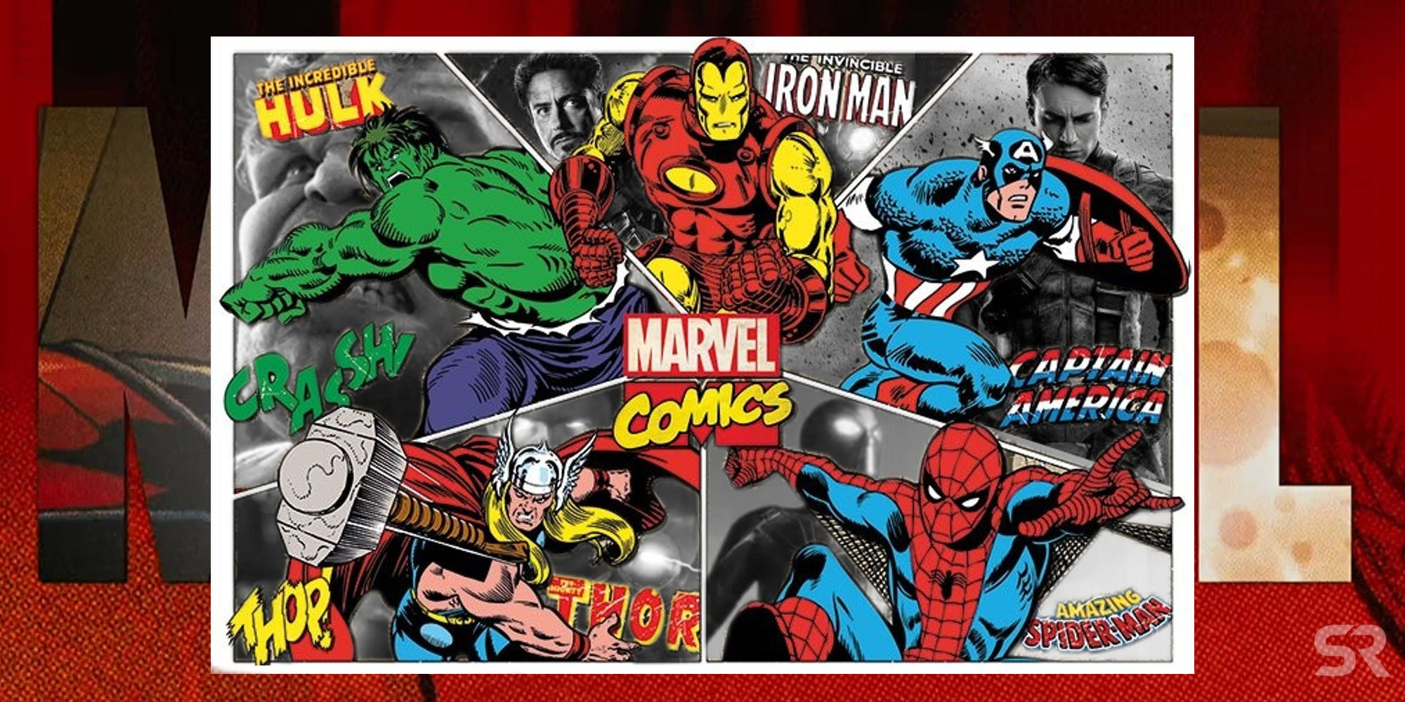 Marvel Comics Wallpapers Themes All The Heroes In One Place