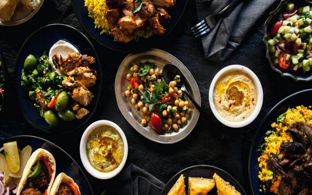 Mediterranean Food Recipes Chrome & New Tab Themes