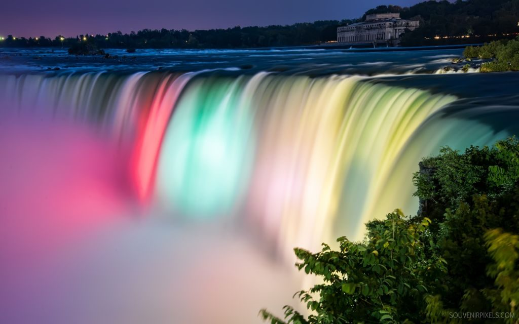 Niagara Falls Wallpapers for Chrome – What does the word 'Niagara' means?!