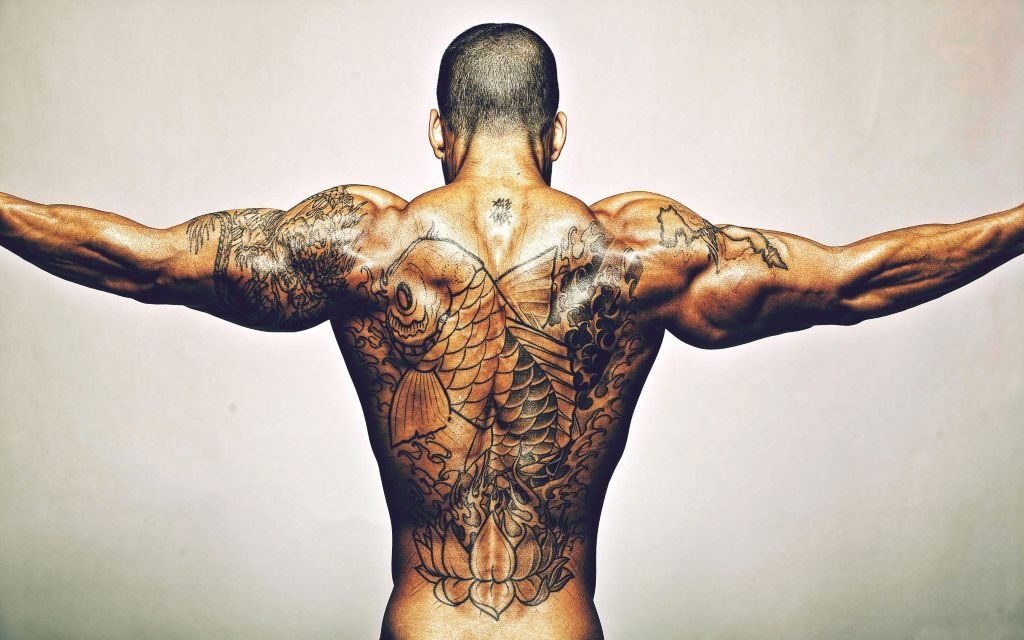 Tattoo Men HD Wallpapers & Backgrounds New Tab