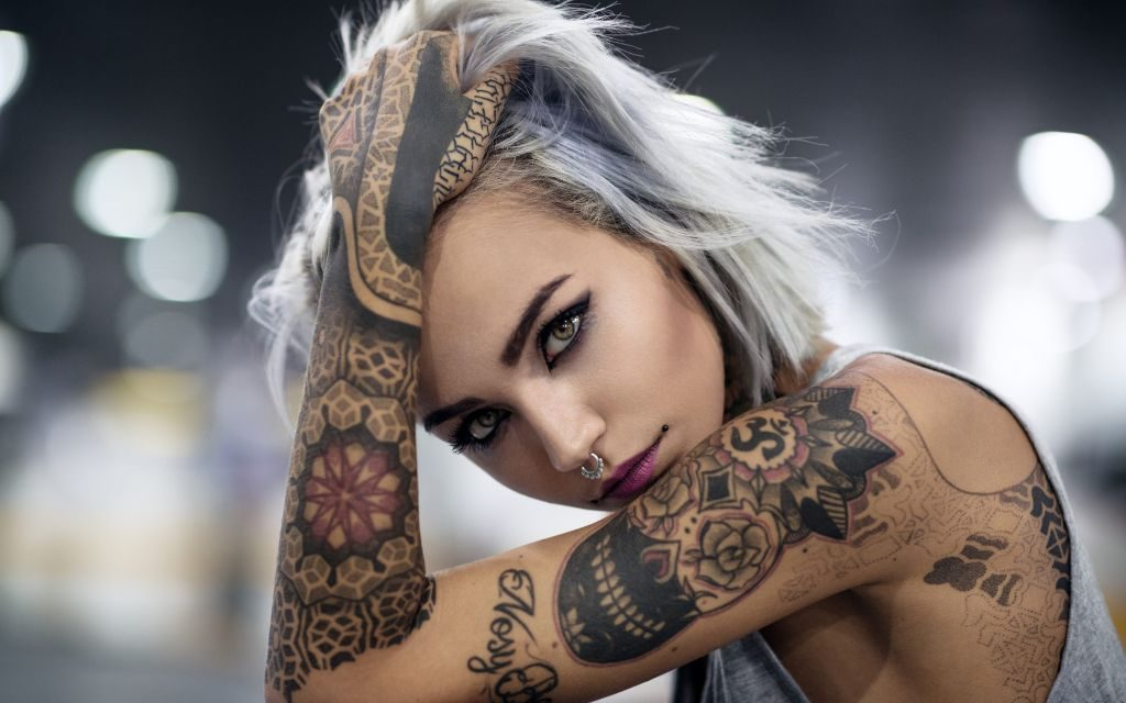 Tattoo Women HD Wallpapers & Backgrounds New Tab