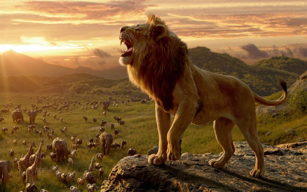 The Lion King 4K Background & Chrome Themes