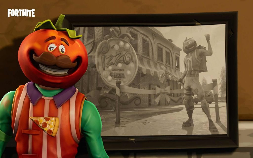 Epic Tomato Head Fortnite Skin with HD Wallpapers!