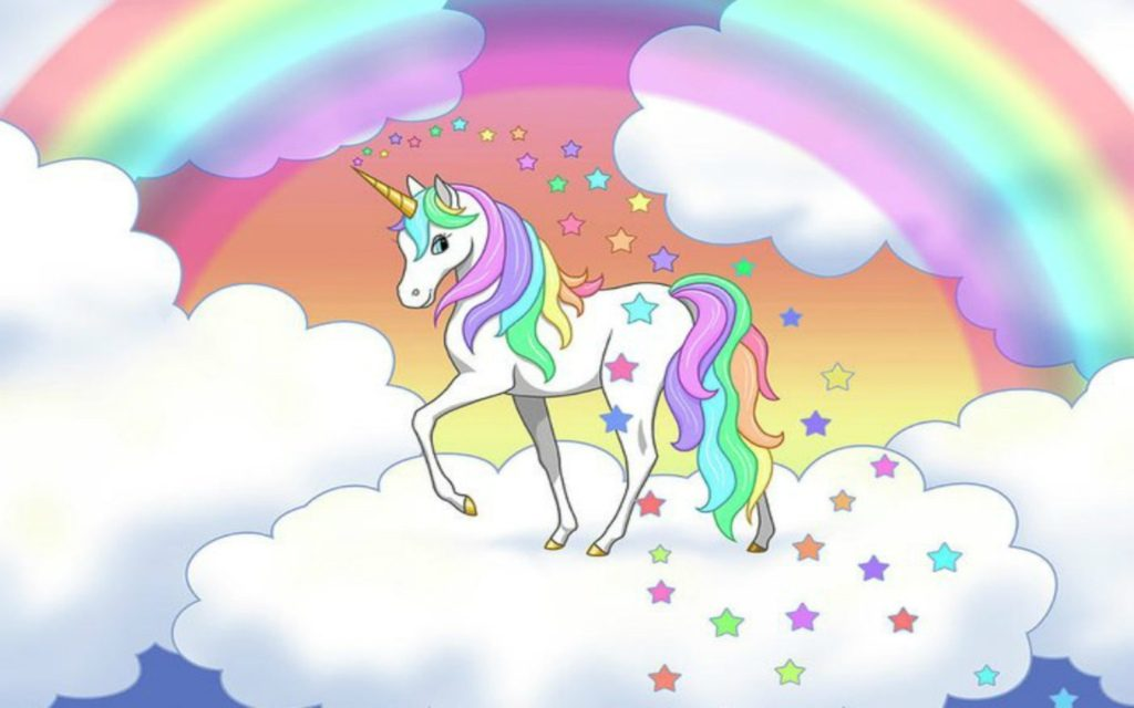 Unicorn Rainbow Wallpapers + How Did the Unicorn Meme Develop?!