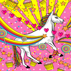 Unicorn Rainbow Pictures