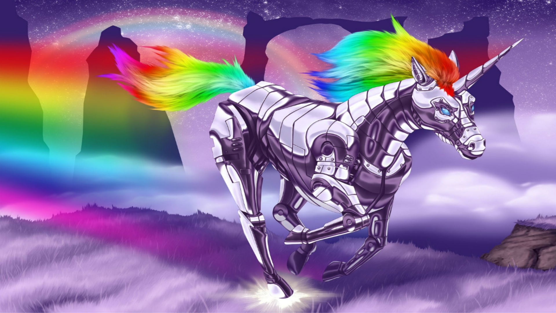 Unicorn Rainbow Wallpapers