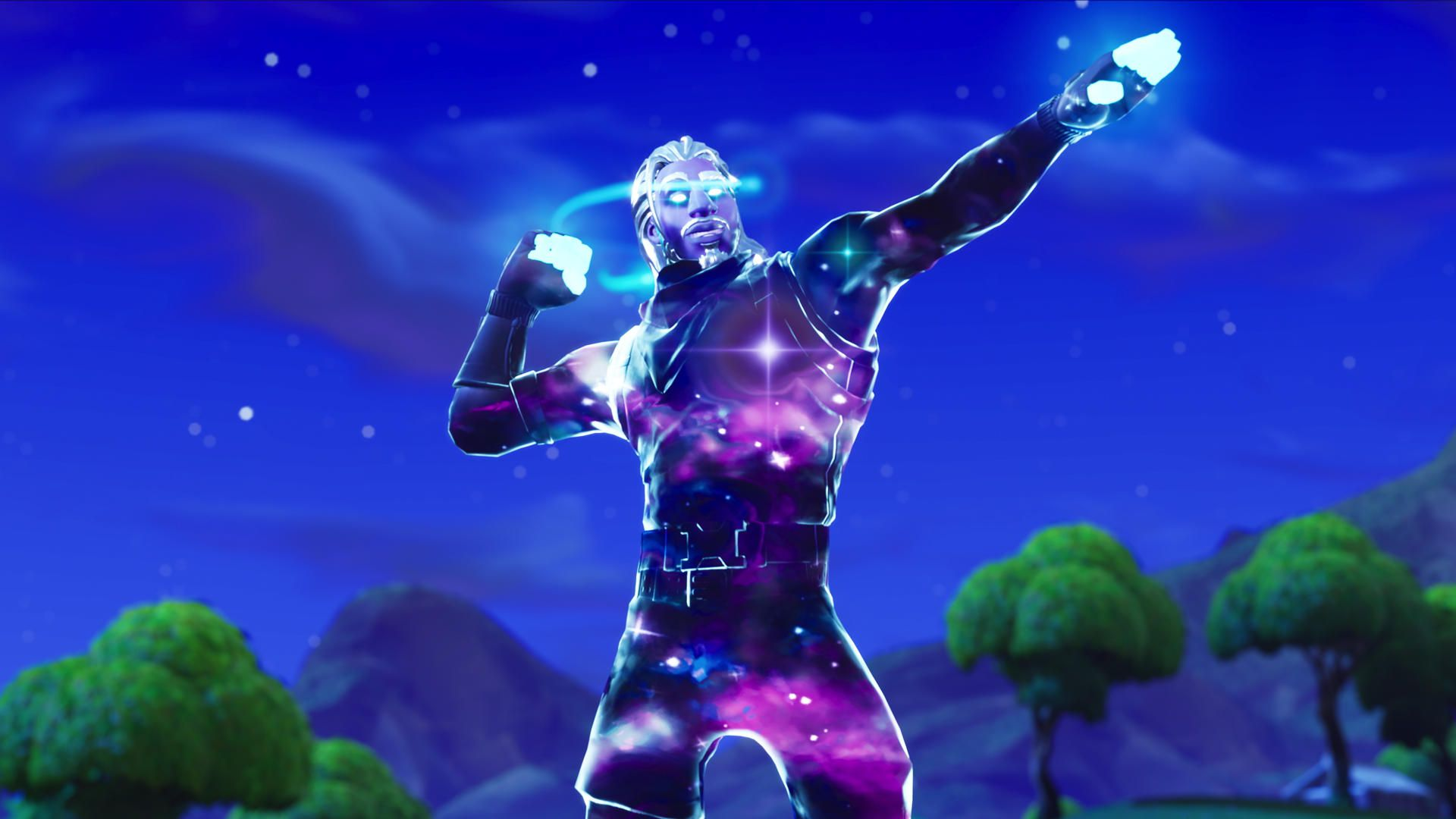 Fortnite Galaxy Skin wallpapers background theme
