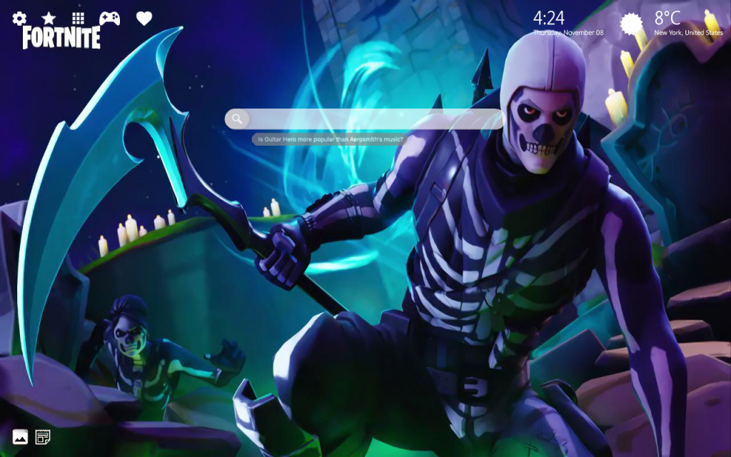 Fortnite Skull Trooper HD Wallpapers – The Epic Fortnite Outfit!