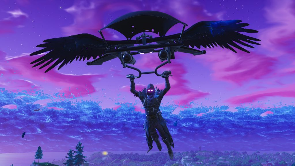 Raven Fortnite HD Wallpapers with 4K Themes for Chrome!