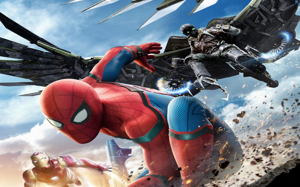 Spider-Man Homecoming HD Wallpapers New Tab Theme
