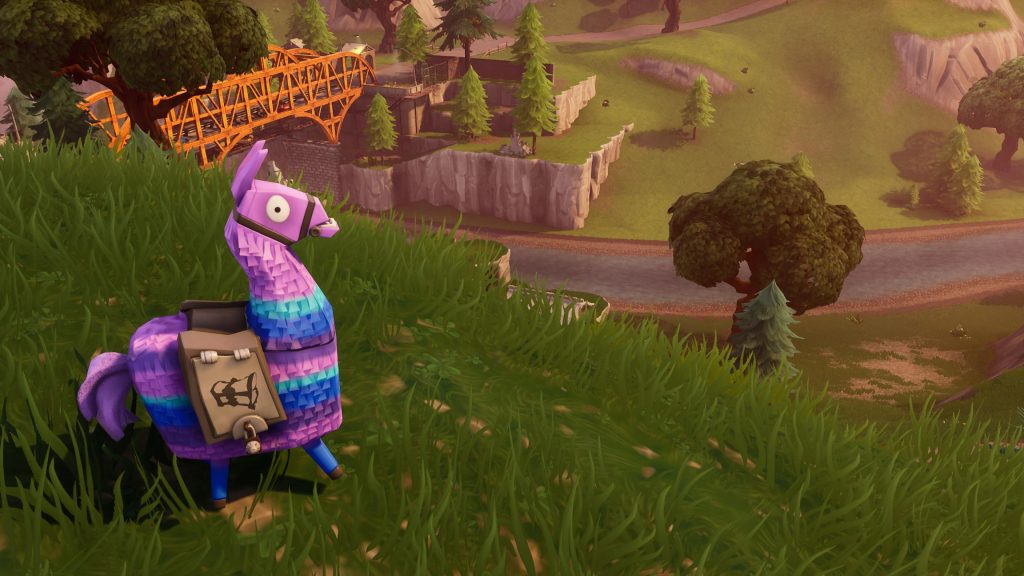 Fortnite Llama Wallpaper HD & Chrome Theme