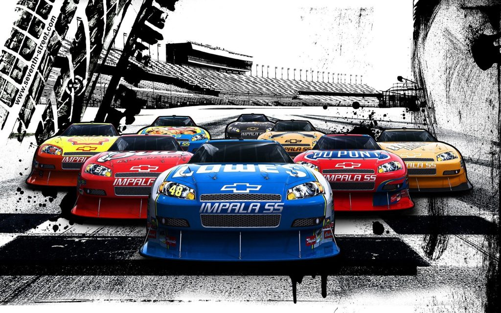 Nascar HD Wallpaper New Tab Theme