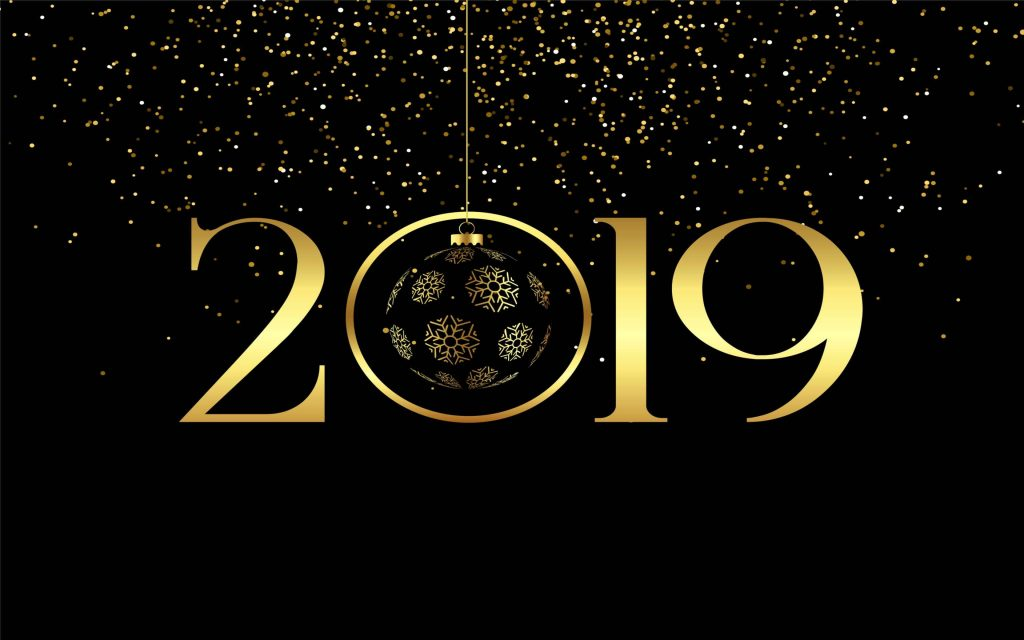 Beautiful New Year 2019 Chrome Themes & New Year's Eve Traditions!