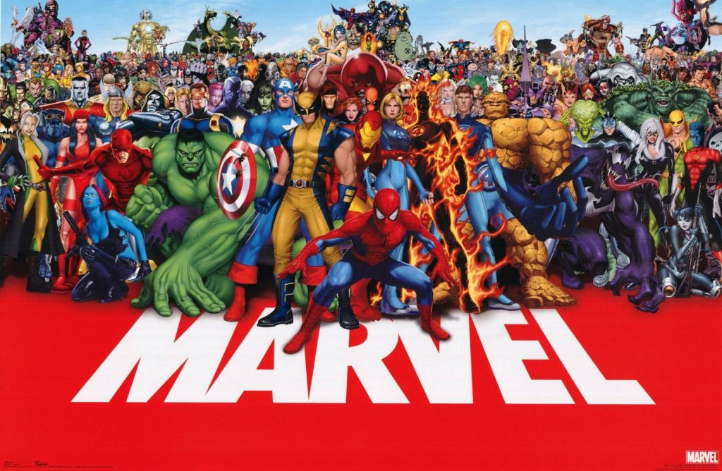 Marvel Comics Wallpapers & Themes – All the Heroes in One Place!