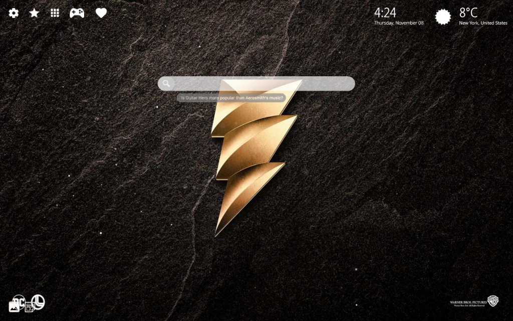 Shazam HD Wallpaper & Chrome Themes