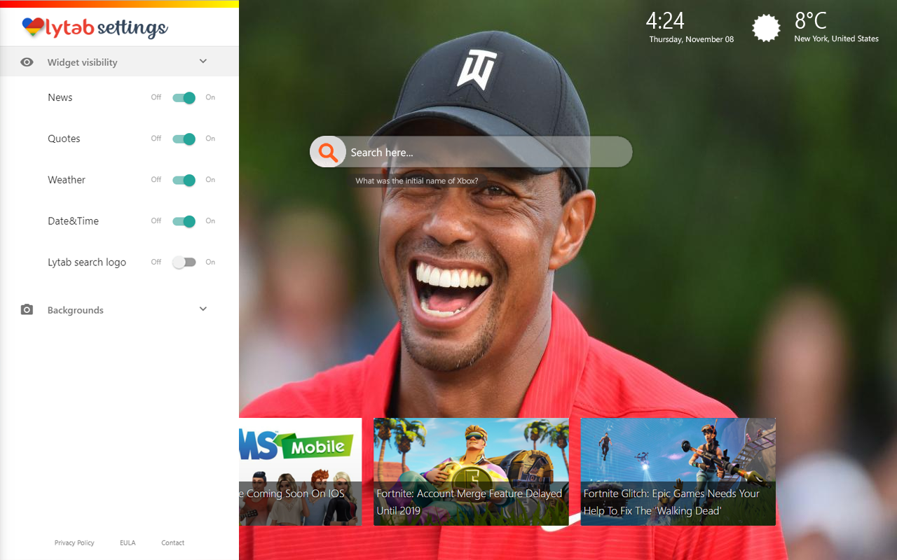 Tiger Woods Career Wallpapers And Backgrounds Lovely Tab