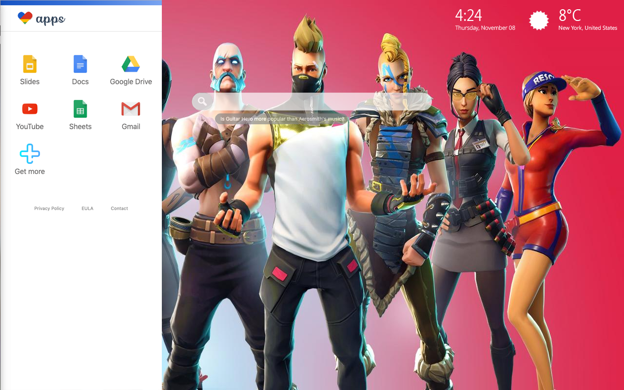 Fortnite Skin Bookmarks