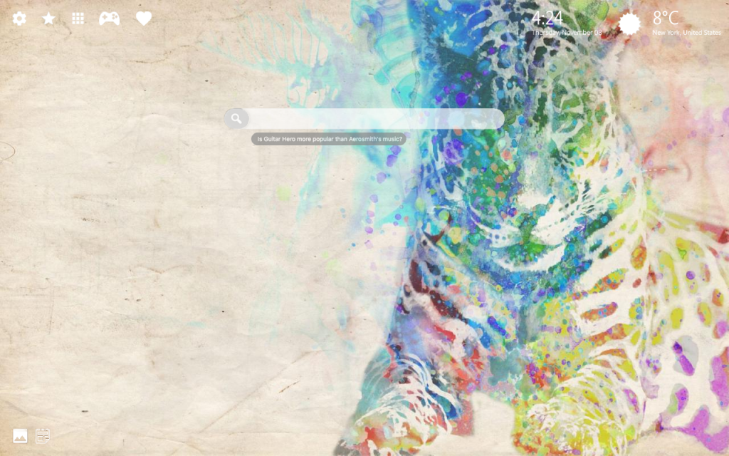 Cool Watercolor 4K Background & Chrome Themes