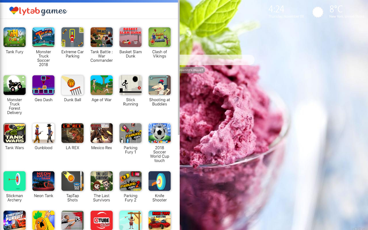 Ice Cream Themes