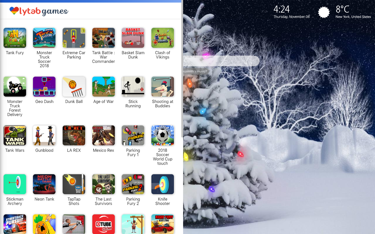 Christmas Snow Themes