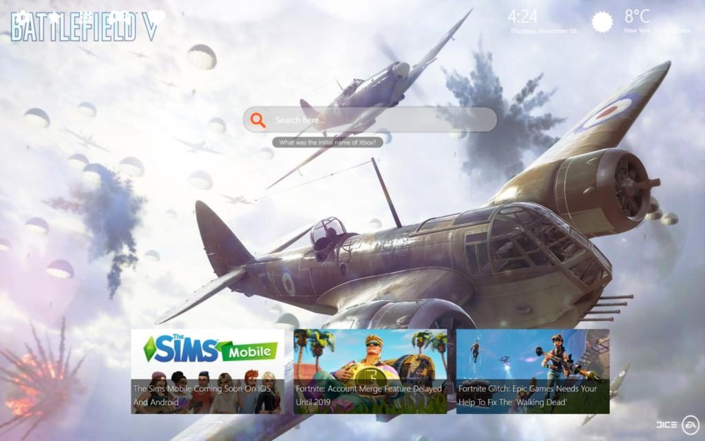 Battlefield V Wallpapers & New Themes – Create Your Own Company!