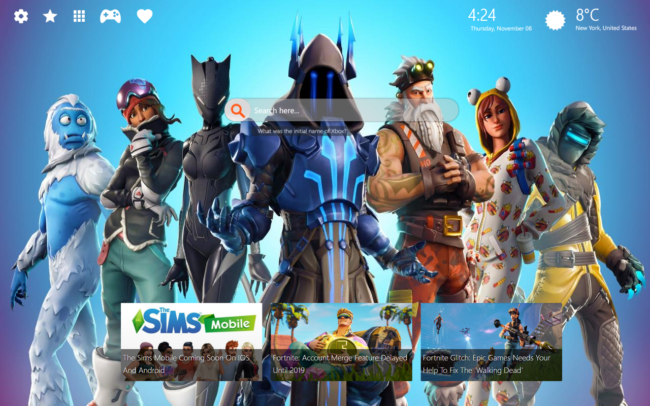 Fortnite Season 7 HD Wallpapers + New Chrome Themes ...