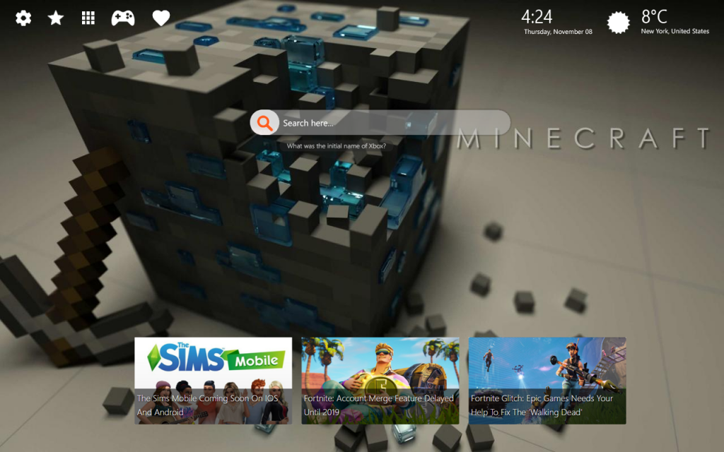 awesome minecraft hd wallpapers chrome themes lovely tab