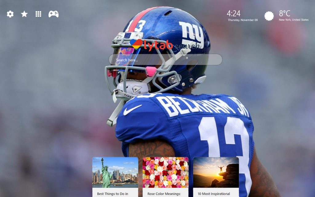 New York Giants Wallpaper HD Theme
