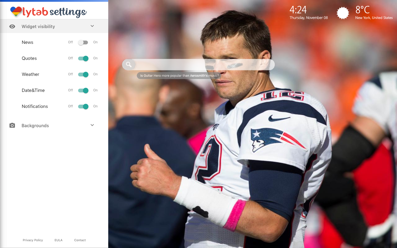 Tom Brady Bookmarks