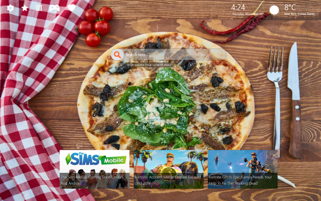 Awesome Pizza 4k Wallpapers & Chrome Themes